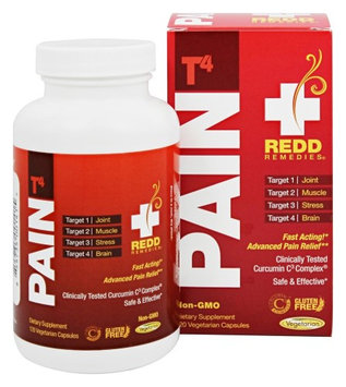 Pain T4 Redd Remedies 120 Caps