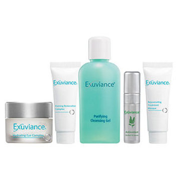 Exuviance - Essentials Kit (Normal/ Combination): Cleansing Gel + Eye Complex + Masque + Evening Complex + Perfect 10 Serum 5pcs