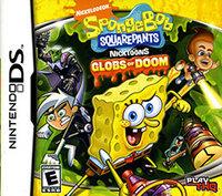 THQ SpongeBob SquarePants featuring Nicktoons  Globs of Doom