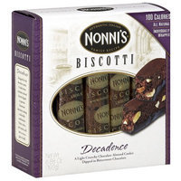 Nonni's Decadence Biscotti, 6.88 oz (Pack of 12)
