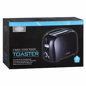 Living Solutions Cool Touch Toaster Reviews Find The