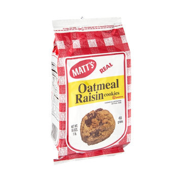Matt's Cookies Oatmeal Raisin