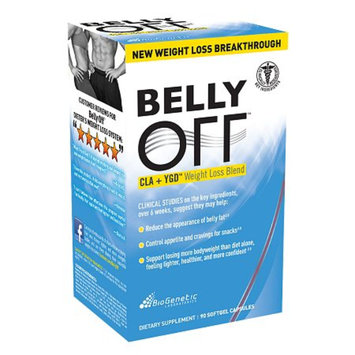 BioGenetic Laboratories BELLY OFF CLA and YDG Weight Loss, Capsules