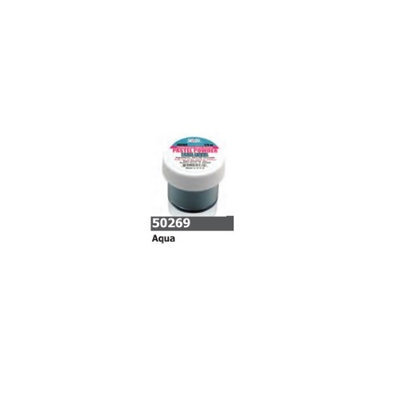 1/2 Ounce Aqua - Pastel Acrylic Powder by Sassi for Beautiful Nails