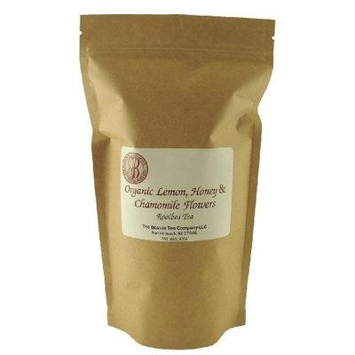 Boston Tea Finest Grade Rooibos Tea, Organic Lemon, Honey and Chamomile Flowers Resealable Pouch