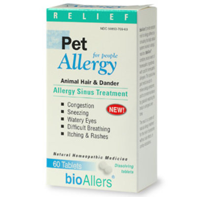 bioAllers Pet Allergy Sinus Treatment For People