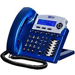 XBLUE X16 6-Line Small Office Digital Telephone, Vivid Blue