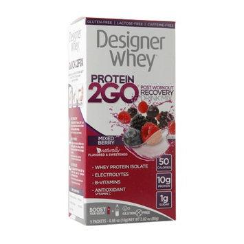 Designer Whey Protein 2Go Drink Mix