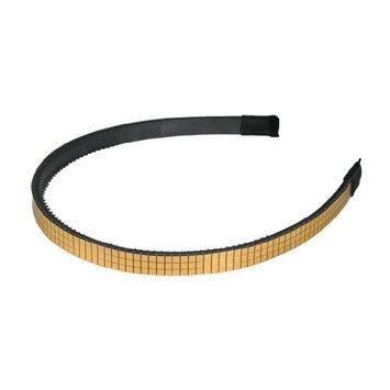 Smoothies Shiny Square Headband-Gold 01633