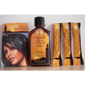 Agadir Hair Oil 4 oz Plus 3 Travel Tubes