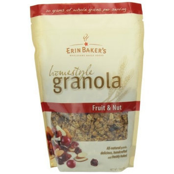 Erin Baker's Homestyle Granola, Fruit & Nut, 12-Ounce Bags (Pack of 6)
