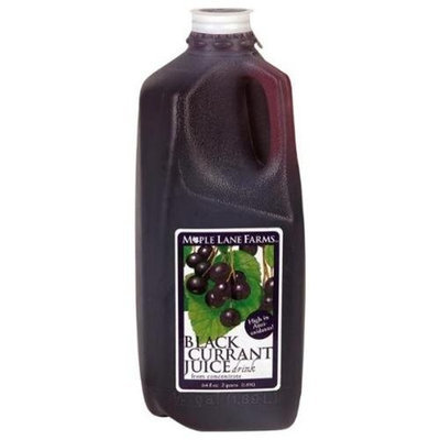 MAPLE LANE FARMS,JUICE,BLACK CURRANT, 64 OZ (PACK OF 6)