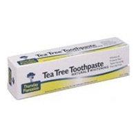 Nature's Plus Tea Tree Whitening Toothpaste Thursday Plantation 5 oz Paste