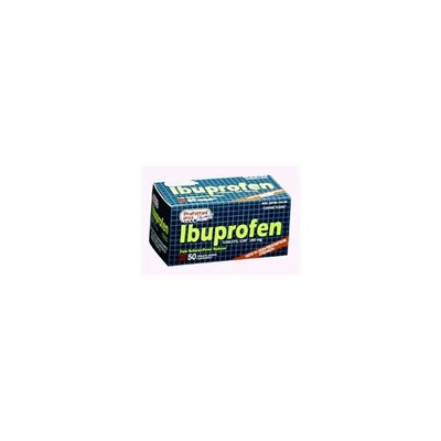 Preferred Plus Products Ibuprofen Tablets, 200 Mg for Pain Reliever and Fever Reducer - 50 ea