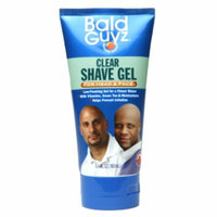 Bald Guyz Clear Shave Gel For Head & Face, 5.4 fl oz