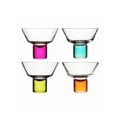 Sagaform Hand Blown Martini Glasses