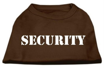 Ahi Security Screen Print Shirts Brown XL (16)