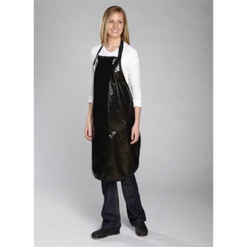 Top Performance TP158 17 Rubber Grooming Apron Blk