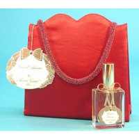 Grand Amour By Annick Goutal - Red Satin Evening Bag 2 Piece Gift Set