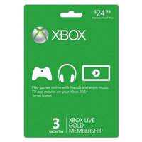 Microsoft Xbox Live 3 Month Gold Membership