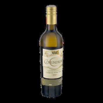Conundrum California White Wine 2013