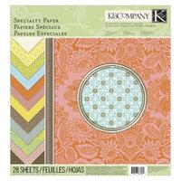 K&Company Beyond Postmarks Letterpress Paper Pad