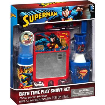 Superman Bath Time Play Shave Set, 5 pc