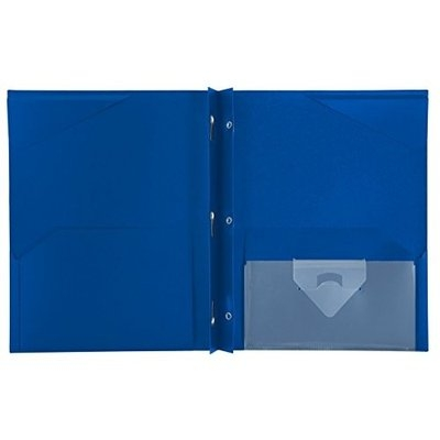 Keith Kimberlin Mead Five Star Stay-put Pocket Folder (Pack of 2)assorted Color