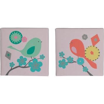 Migi Modern Blossom 2-Piece Canvas Wall Art
