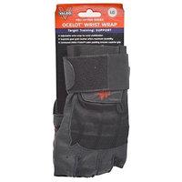 Valeo Black Ocelot Lifting Glove w/ Wrist Wraps