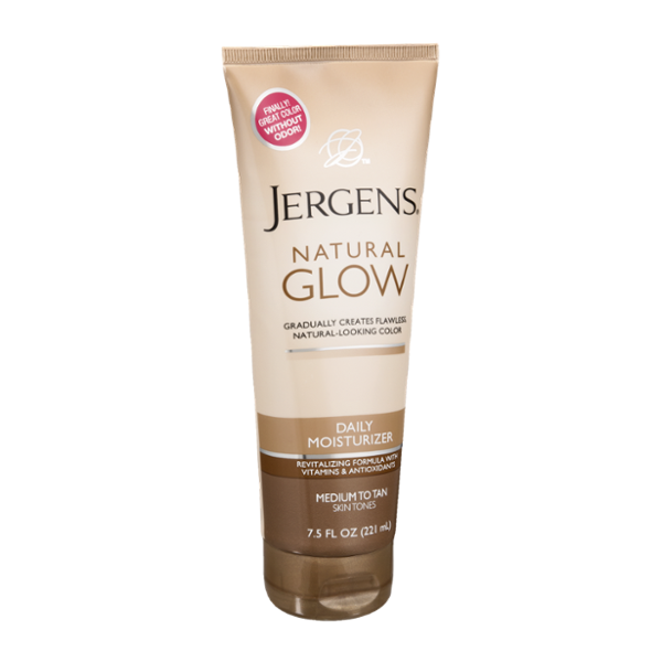 Jergens Natural Glow Daily Moisturizer Medium to Tan Skin Tones
