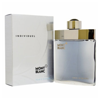 Men's Mont Blanc Individuel by Montblanc Eau de Toilette Spray - 2.5