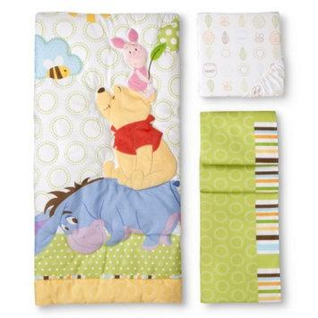 Disney Playful Pooh 3pc Crib Bedding Set