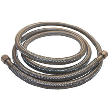 Lasco Ice Maker Stainless Steel Water Line - 20' Length - 1/4 Connection
