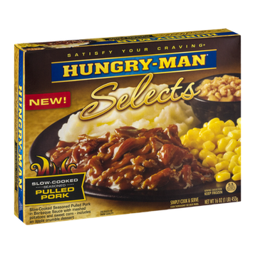 Hungry-Man Selects Slow-Cooked Seasoned Pulled Pork