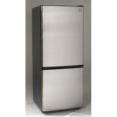 Avanti FFBM102D2P 10.2 Cu. Ft. Platinum Bottom Freezer Refrigerator