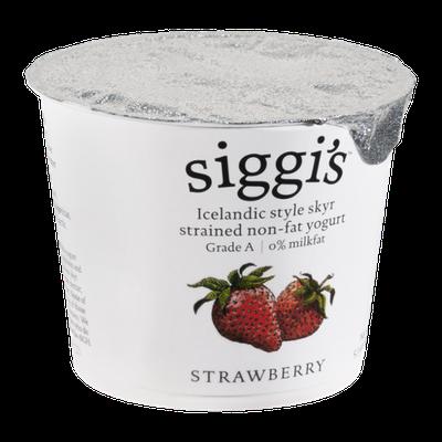 Siggi's Yogurt Strained Non-Fat Strawberry