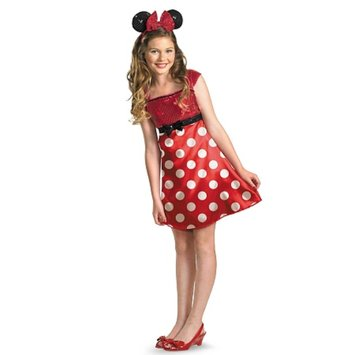Disguise Costumes Disney Mickey Mouse Clubhouse Red Minnie Mouse Child Tween Costume