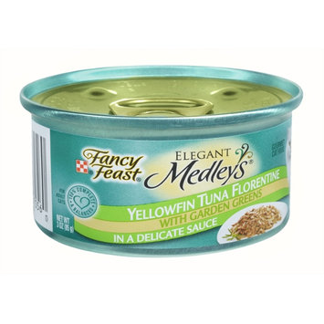 Fancy Feast® Yellowfin Tuna Florentine Wet Cat Food With Garden Greens In A Delicate Sauce