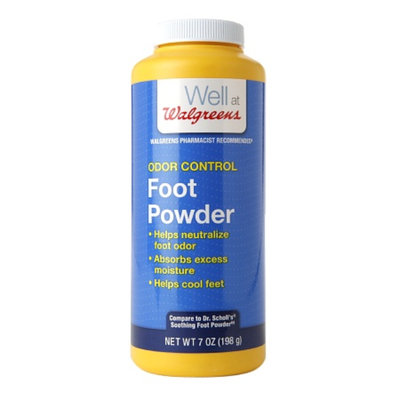 Walgreens Odor Control Foot Powder