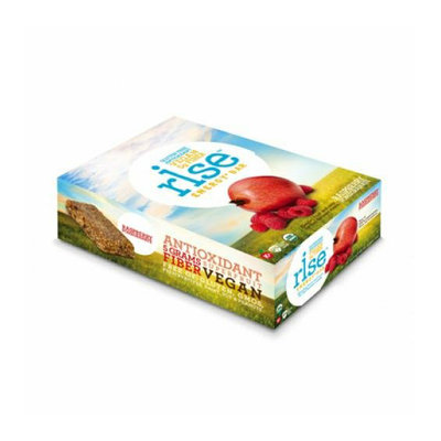 Rise Bar Energy Bar Organic Raspberry Pomegranate Case of 12 1.6 oz