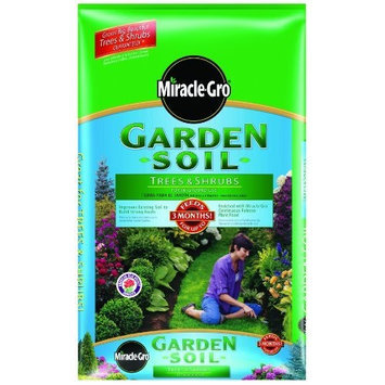 Miracle-Gro 73351300 Garden Soil For Trees & Shrubs Mixing Bag, 1-Cubic-Foot (Discontinued by Manufacturer)