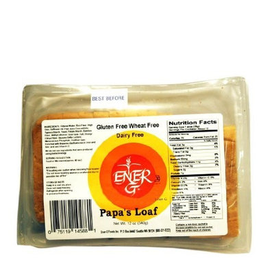 Ener-G Foods Papa's Loaf, 12-Ounce Packages (Pack of 6)