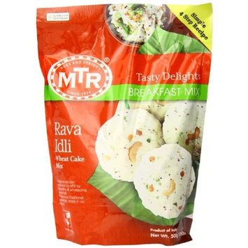 MTR Rava Idli Instant Dry Mix, 17.6-Ounce Pouches (Pack of 24)