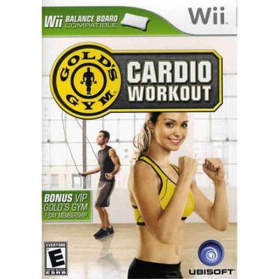 Gold's Gym Cardio Workout Wii Game UBISOFT