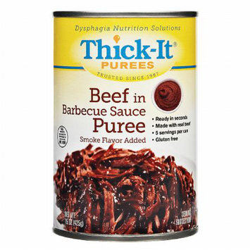 Thick-It Beef in Barbecue Sauce Puree