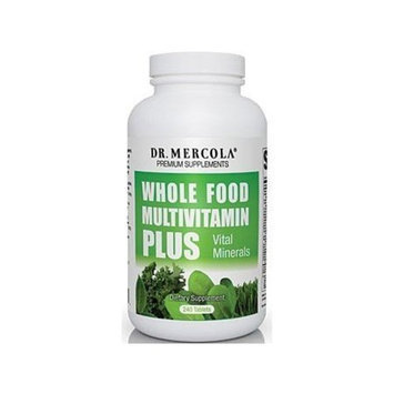 Dr. Mercola: Whole Food Multivitamin PLUS, 240 tabs