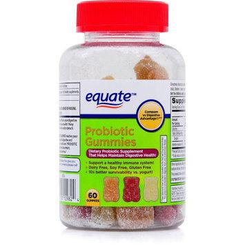 Equate Eq Probiotic Gummy 60ct