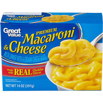 Great Value Premium Macaroni & Cheese Dinner Mix, 14 oz