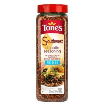 Tone's Southwest Chipotle Seasoning - 21 oz